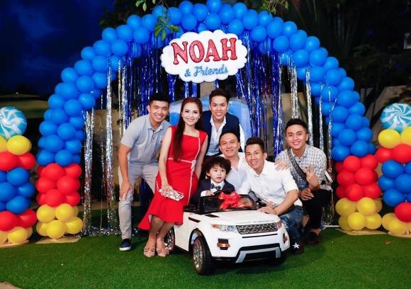 Diễm Hương, hoa hậu Diễm Hương, sinh nhật con trai Diễm Hương