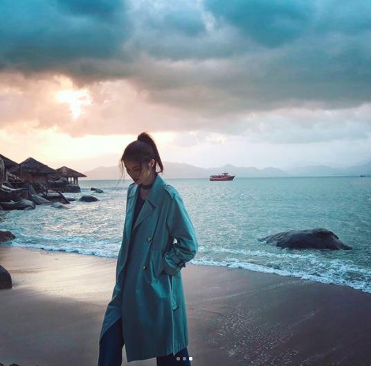 siêu mẫu hà tuệ, chân dài victoria's secret, du lịch việt nam