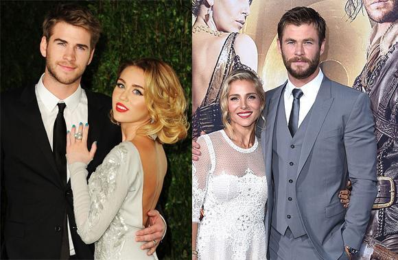 Miley Cyrus và Liam Hemsworth, nhà của  Chris Hemsworth, Miley Cyrus