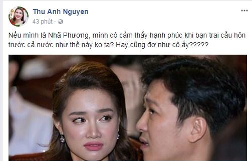 Trường Giang,Nhã Phương,Trường Giang cầu hôn Nhã Phương