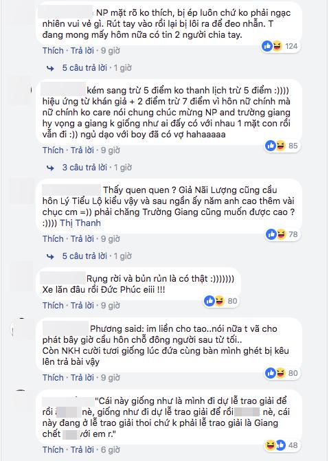 Trường Giang cầu hôn Nhã Phương, màn cầu hôn của Trương Giang, Trường Giang