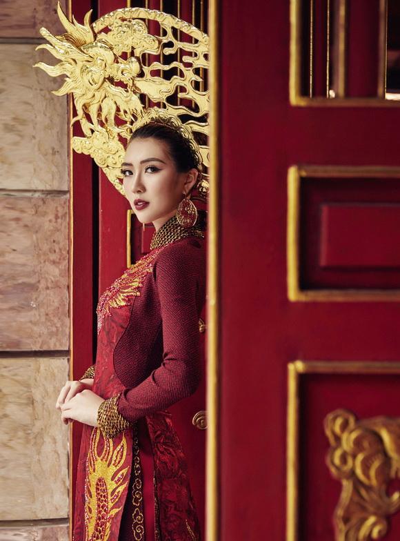 Người đẹp tường linh,tường linh thi hoa hậu,Miss Intercontinental 2017