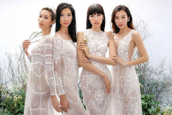 Dàn nữ thần đọ vẻ quyến rũ trong trang phục của NTK Chung Thanh Phong