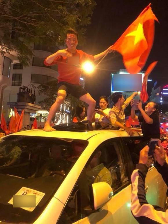 sao Việt, sao Việt ăn mừng chiến thắng U23 Việt Nam, U23 Việt Nam