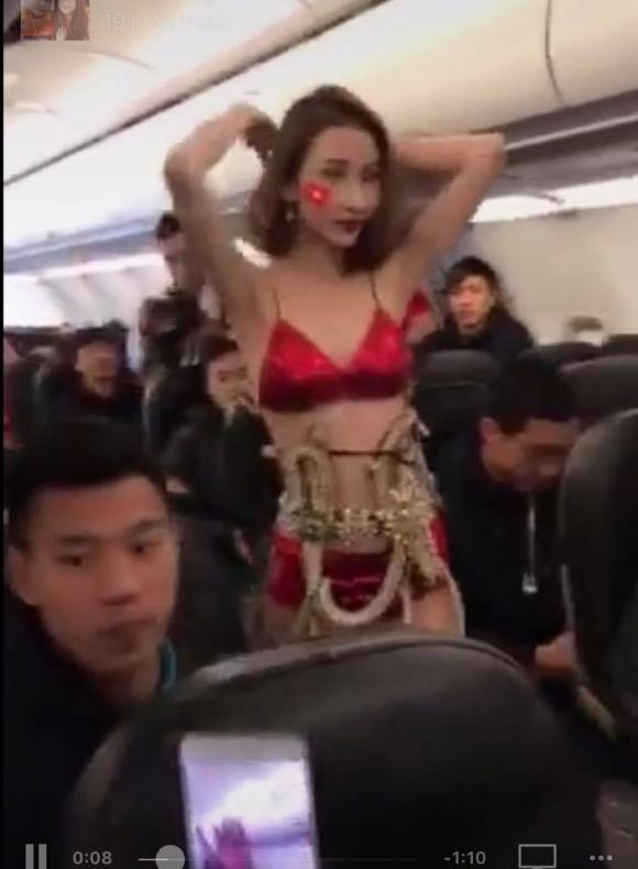 U23 Việt Nam, Lại Thanh Hương, người mẫu Lại Thanh Hương
