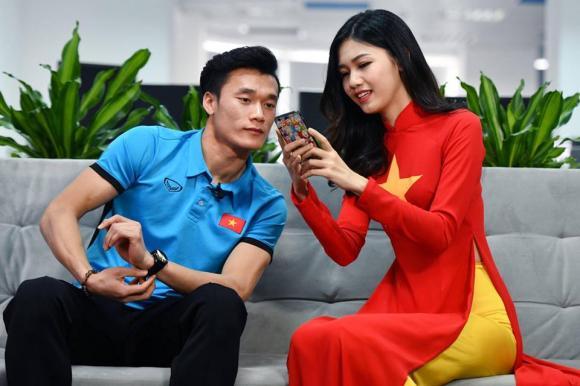 Bùi Tiến Dũng, Thanh Thanh Tú, Á hậu Thanh Thanh Tú, Công Phượng