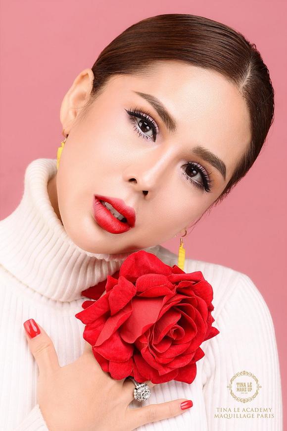 Chuyên gia trang điểm Tina Lê,phù thủy makeup tina lê,tina lê makeup
