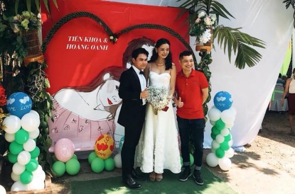 hoàng oanh, đám cưới hoàng oanh, chồng hoàng oanh