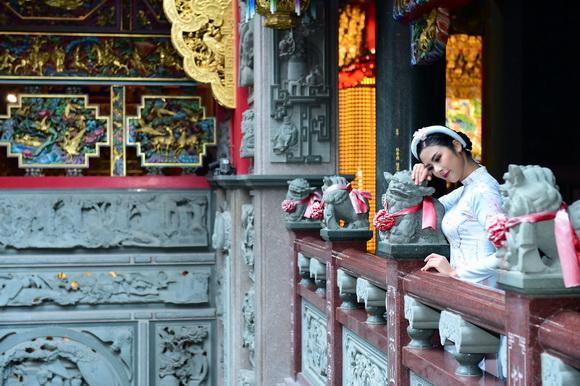 Hoa hậu ngọc hân,ngọc hân khoe sắc ở đài loan,hoa hậu việt nam 2010