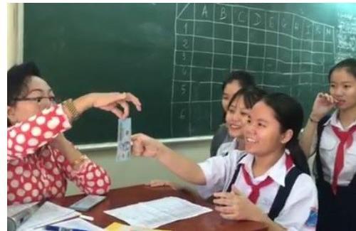 cô giáo mừng tuổi, mừng tuổi học sinh, video mừng tuổi học sinh