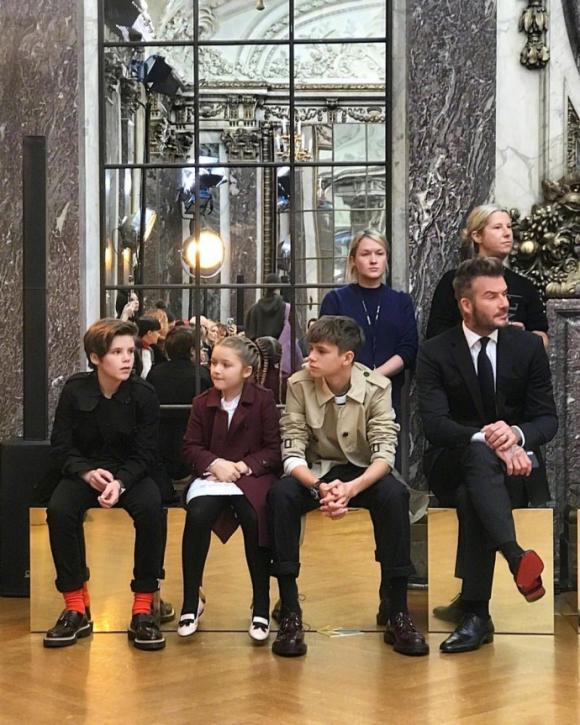 Harper Seven Beckham,con gái David Beckham,Tuần lễ thời trang New York