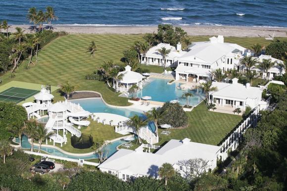 ngôi sao sở hữu dinh thự, biệt thự, nhà đẹp, 10 ngôi sao sở hữu dinh thự đắt giá