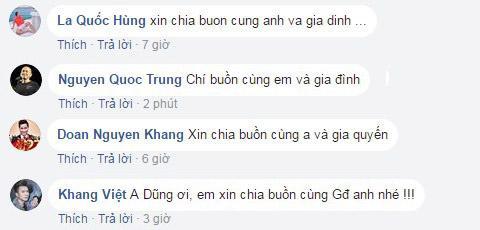 Quang Dũng, bố của ca sĩ Quang Dũng, bố của Quang Dũng qua đời
