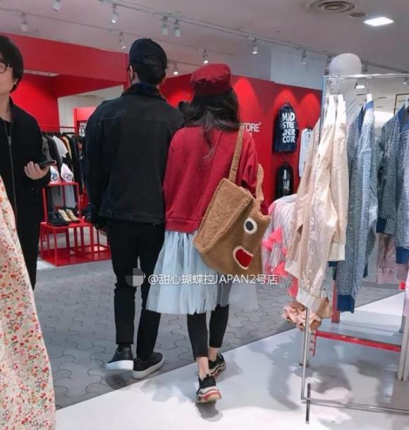 nữ diễn viên PHạm băng Băng,Phạm Băng Băng và Lý Thần tình tứ, hẹn hò tại Nhật Bản