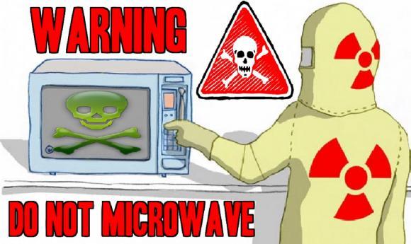 lò vi sóng, tổn thương não, ung thư, lò vi sóng gây ung thư, thức ăn chế biến bằng lo vi sóng, lý do không nên dùng lo vi sóng, tác hại lò vi sóng
