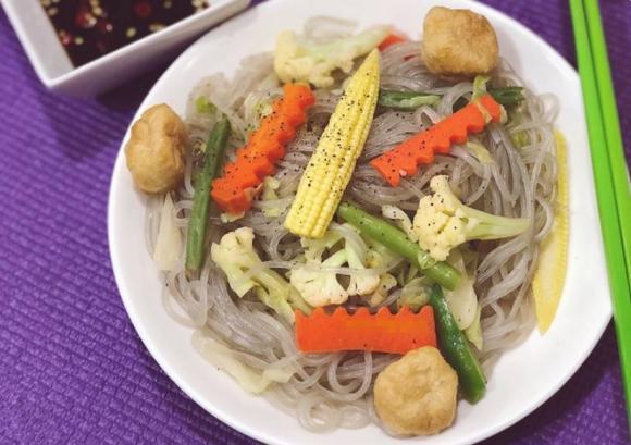 cách chế biến món miến ngon, các món miến, món ăn chống ngấy