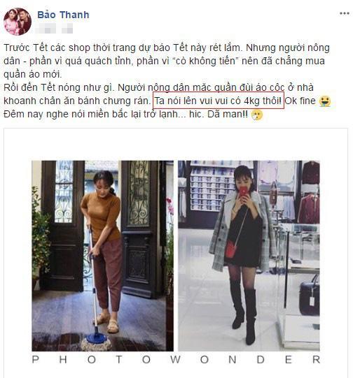 sao Việt, sao Việt tăng cân, Thân Thúy Hà, Bảo Thanh, Thu Thủy, Quang Đăng