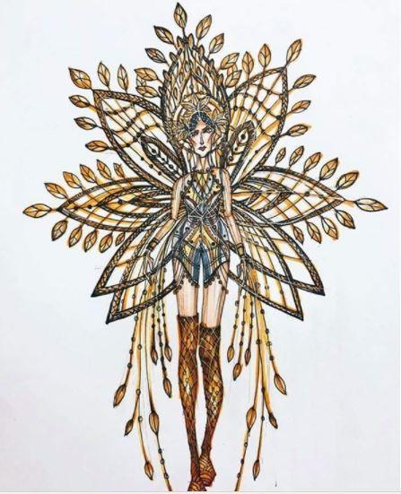hương giang, trang phục truyền thống hương giang idol, hoa hậu chuyển giới quốc tế 2018