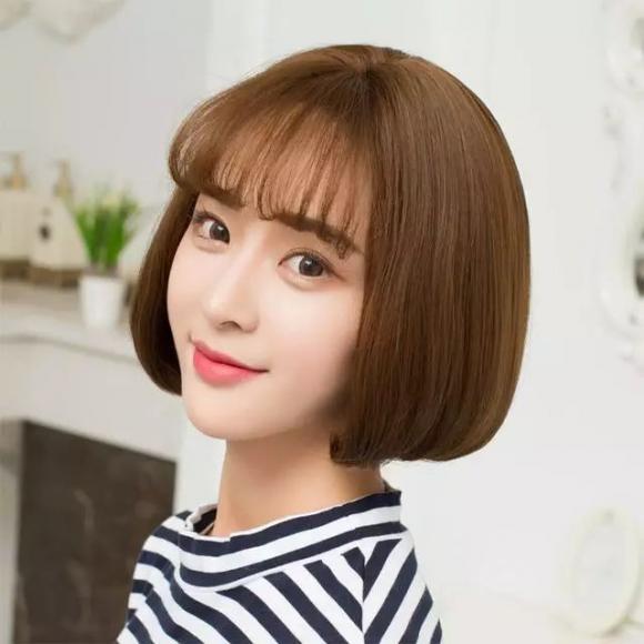 Những kiểu tóc khiến khuôn mặt thon gọn bất ngờ