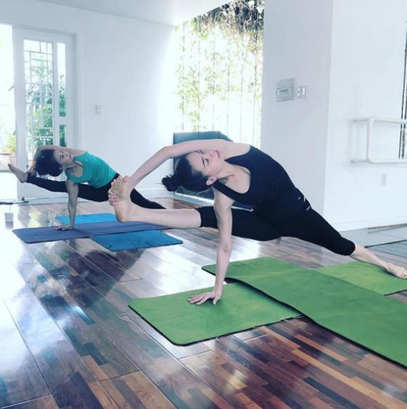 hồ ngọc hà, hồ ngọc hà tập yoga, yoga