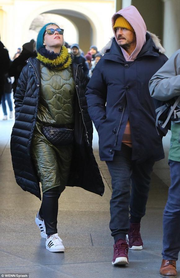nam diễn viên Orlando Bloom.,Ca sĩ Katy Perry,Orlando Bloom và katy perry tái hợp