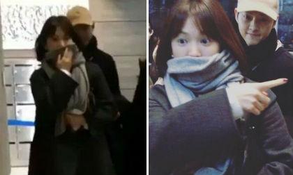 Diễn viên Song Hye Kyo,Song Hye Kyo trẻ trung, trẻ như gái đôi mươi, song joong ki và song hye kyo
