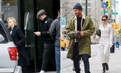Brooklyn, Chloe Moretz, David Beckham