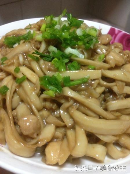 Món nấm sò xào thịt gà, món ăn ngon mỗi ngày, món nấm sò xào thịt gà