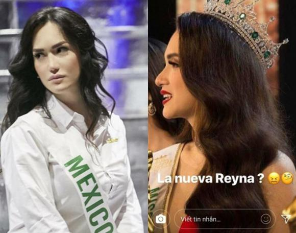 Hoa hậu Mexico, Hoa hậu chuyển giới Mexico Anahi Christobal Altuzar, Hương Giang