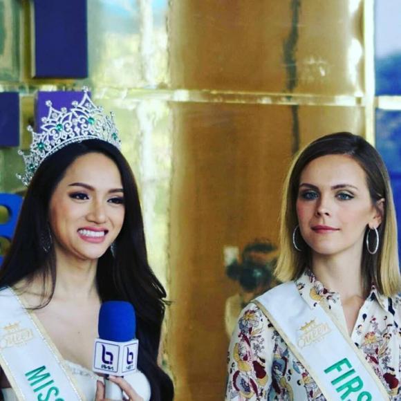 sao Việt,Hương Giang đăng quang Hoa hậu Chuyển giới Quốc tế 2018,Hương Giang