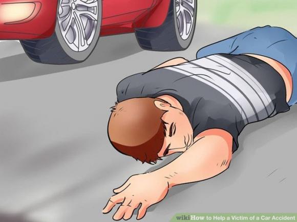 giúp người bị tai nạn, người bị tai nạn giao thông, cách sơ cứu người bị tai nạn giao thông