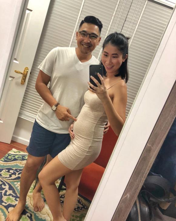 Stephanie Nguyễn, chị chồng tăng thanh hà, tin vui bầu bí, hơn 1 năm kết hôn