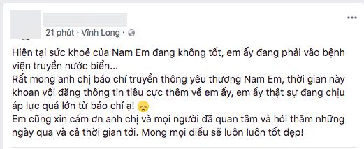 Nam Em,Nam Em tự tử,sao Việt
