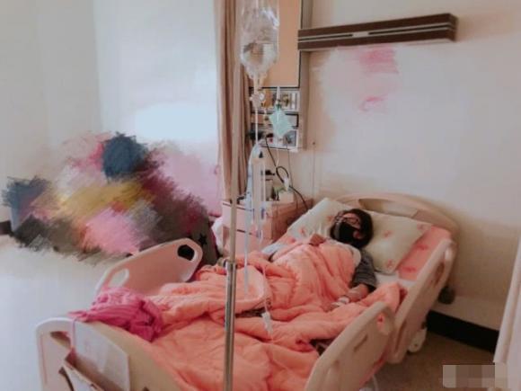 An Dĩ Hiên,mang thai ngoài tử cung, phẫu thuật khẩn cấp