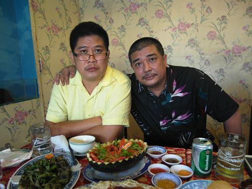 Phước Sang, Lê Tuấn Anh, đạo diễn Lê Hoàng