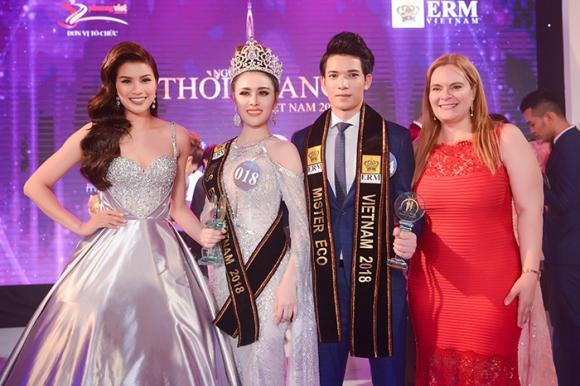Miss Eco International,Thư Dung,sao Việt,hoa hau