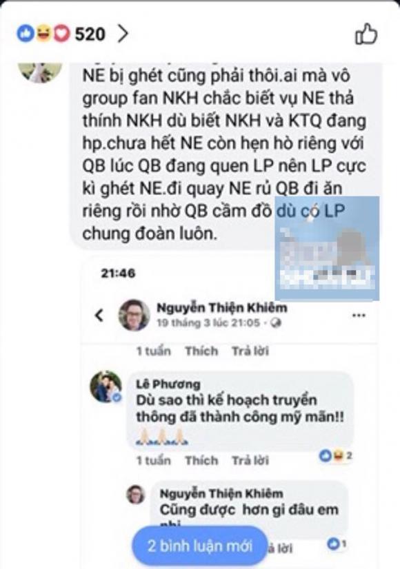 Nam Em, Quý Bình, Ngô Kiến Huy, Lê Phương