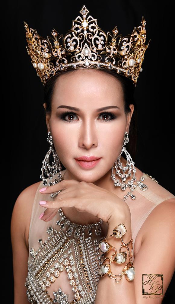 Hoa hậu Quý bà Hoàn vũ,  Mrs Universe 2017, Trâm Lưu, sao việt