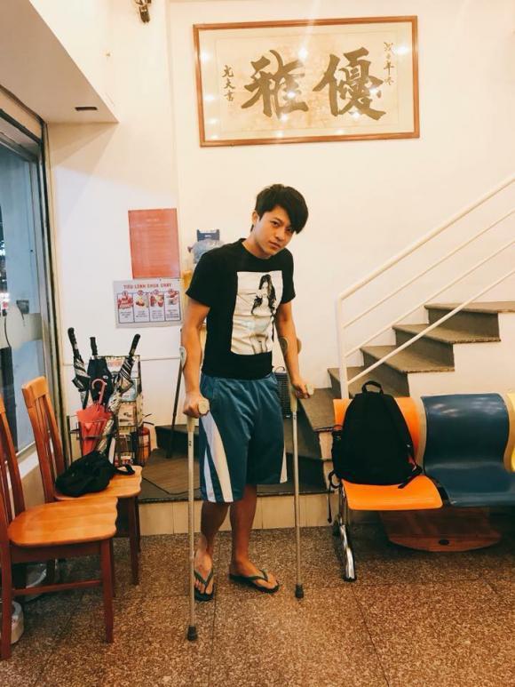 Harry Lu, Harry Lu bị tai nạn, mỹ nam xứ đài