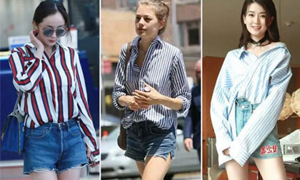 áo phông, mix đồ với áo phông, thời trang công sở