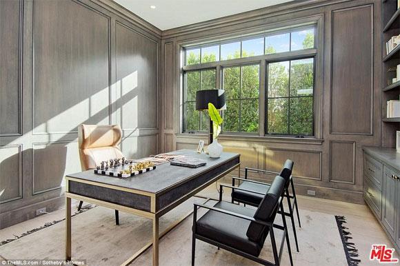 Ben Affleck, biệt thự của Ben Affleck, Jennifer Garner, sao hollywood