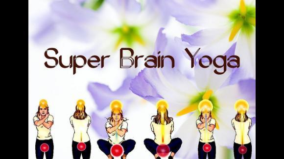 bài tập yoga, bài tập cho não, bài tập Super Brain Yoga