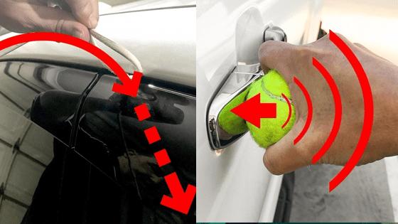 mở khóa xe ô tô, khóa xe ô tô, xe ô tô, cách mở khóa xe ô tô khi quên chìa khóa
