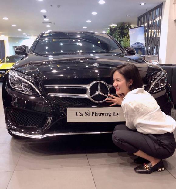 phương ly, phương ly mua xe, xe hơi đời mới