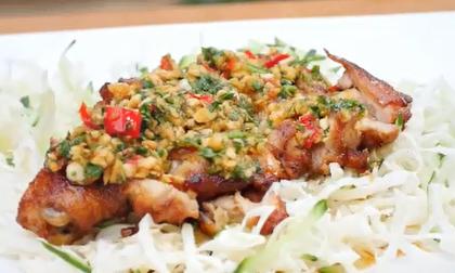 Chế biến thịt gà, món ăn ngon, clip nấu ăn