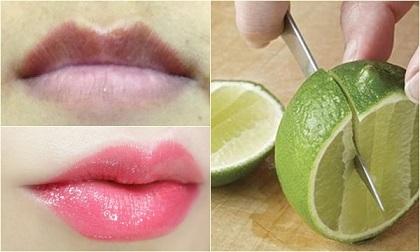 son môi, cách trị tâm môi, môi nứt nẻ