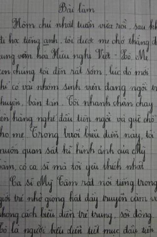 sao Việt, bài văn về sao Việt, Mỹ Tâm, Thu Minh,