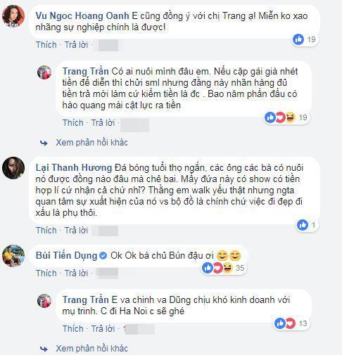 Bùi Tiến Dũng, sao Việt, Nguyên Khang, Hoàng Bách, Trang Trần