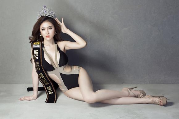 Miss Eco International 2018, Thư Dung, sao Việt