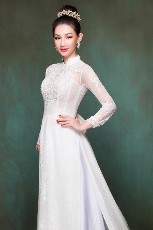 MC Quỳnh Chi gợi ý các mẫu áo dài cưới đẹp dành cho cô dâu trong lễ vu quy